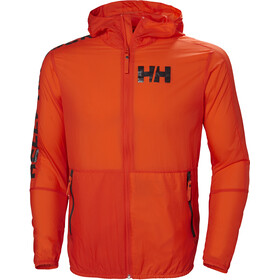Helly Hansen Active Veste coupe-vent Homme, cherry tomato